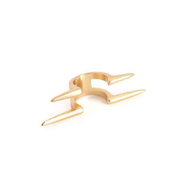 comprar anillo con pinchos dorado
