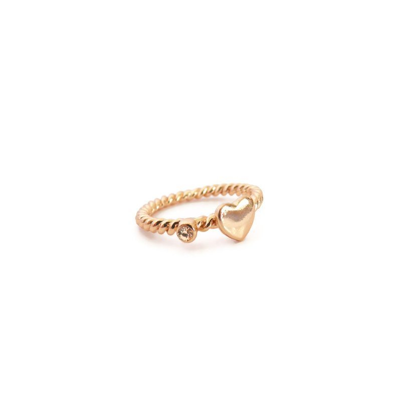 comprar anillo en forma de corazón