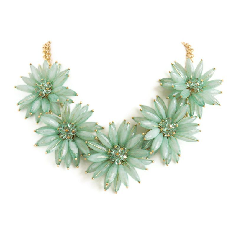 dónde comprar collar flores mint
