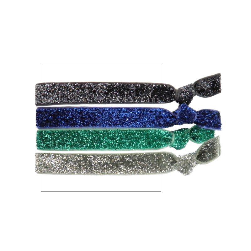 comprar online pack gomas del pelo glitter