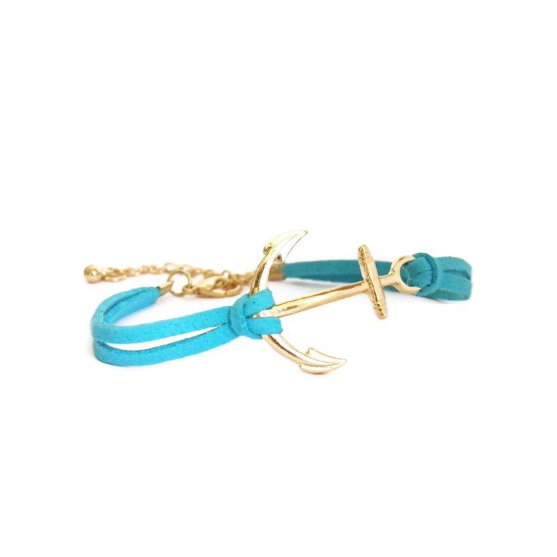 comprar pulsera ancla azul