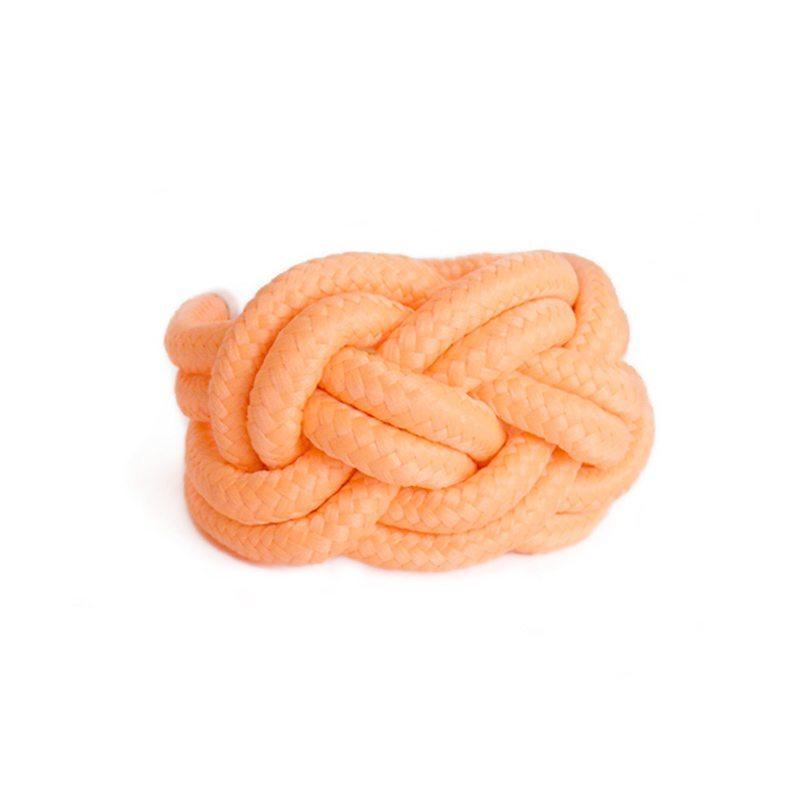 comprar online pulsera de cuerda con nudos coral neón