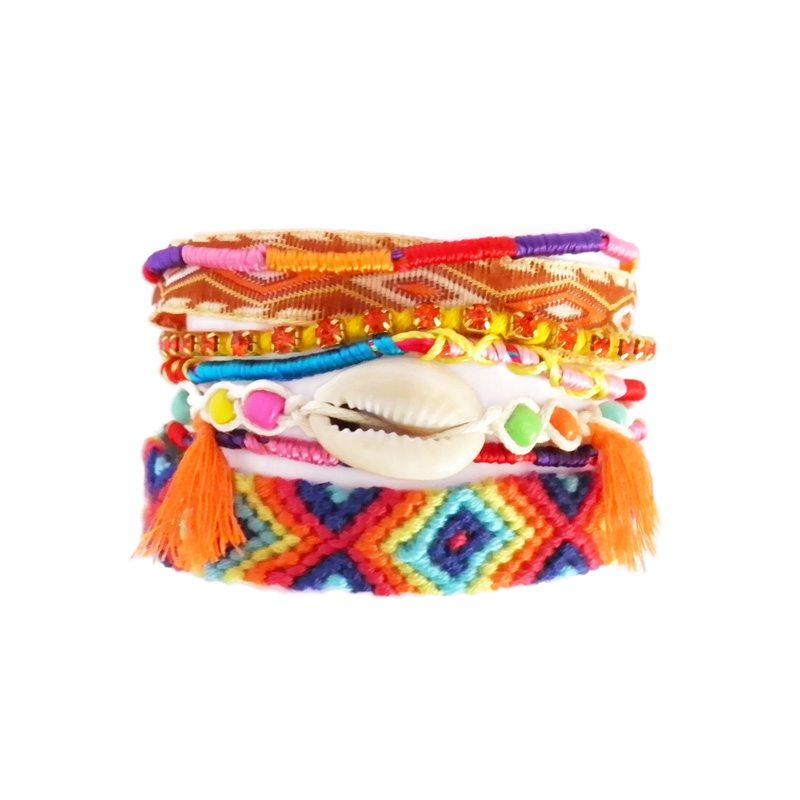comprar online pulsera party arm naranja