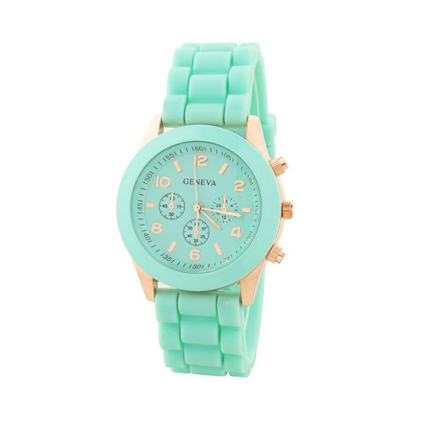 comprar online reloj analógico dorado mint