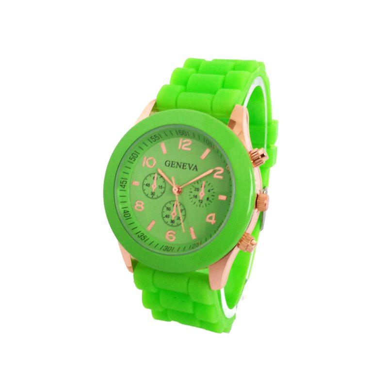 comprar reloj analógico verde