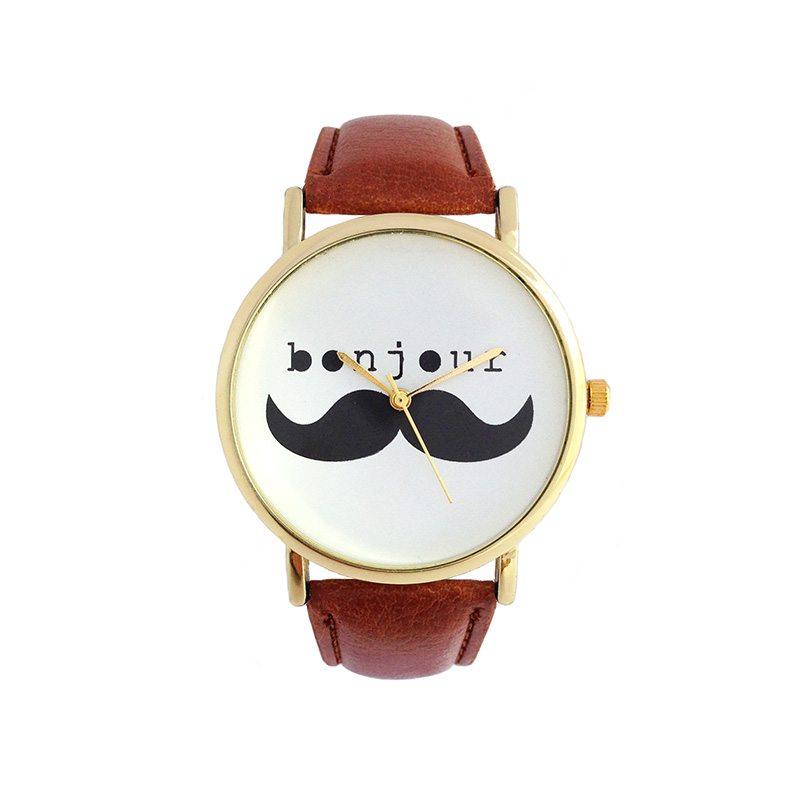 dónde comprar reloj bonjour bigote mostacho