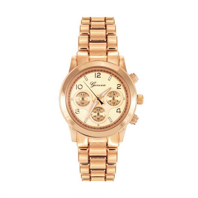 comprar reloj boyfriend dorado rosa