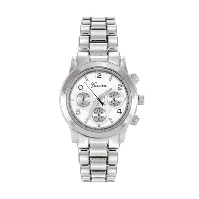 dónde comprar reloj boyfriend plateado