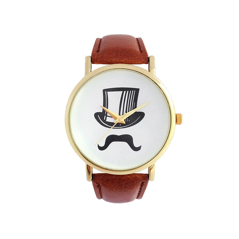 comprar reloj con bigote y chistera