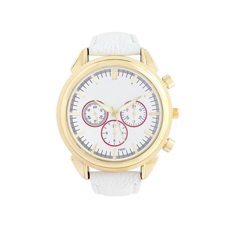 comprar reloj estilo boyfriend blanco