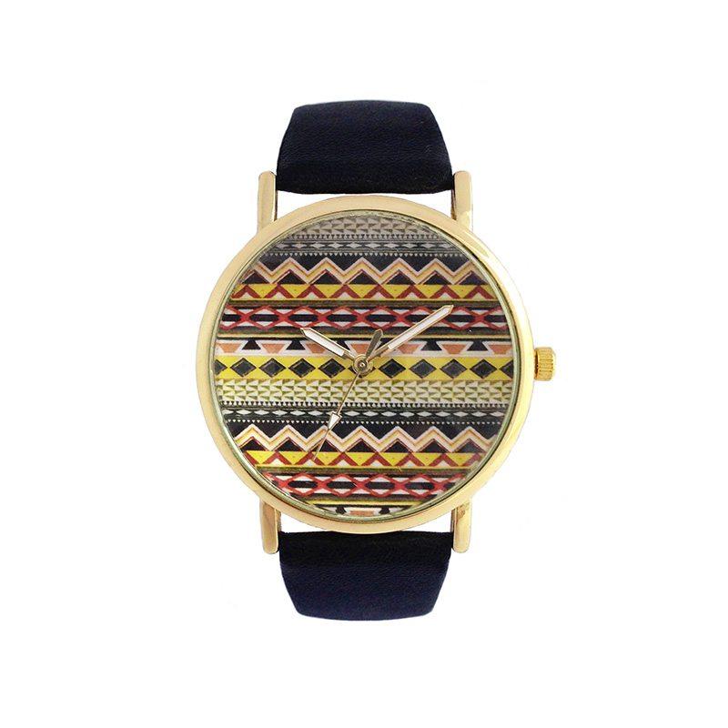 comprar online reloj étnico negro