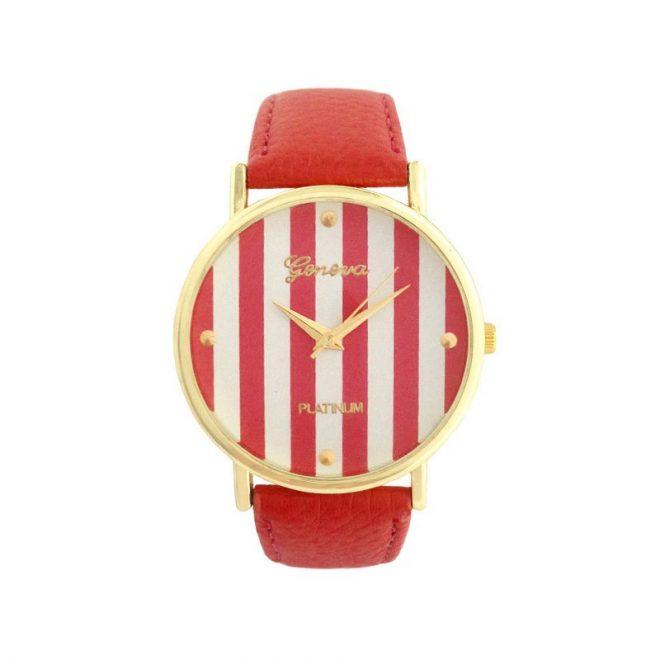 dónde comprar reloj rayas rojo