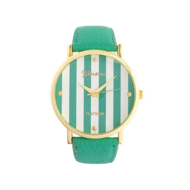 comprar reloj rayas verde