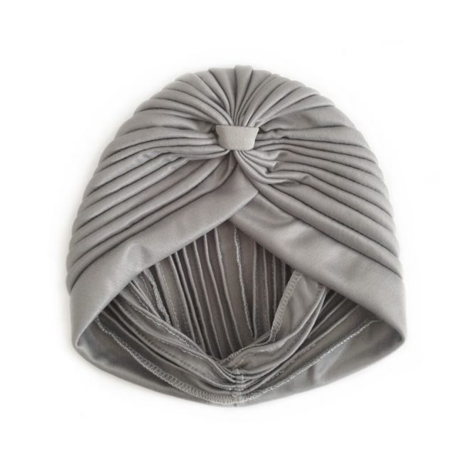 comprar online turbante gris