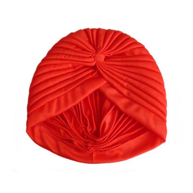 imagen de turbante rojo