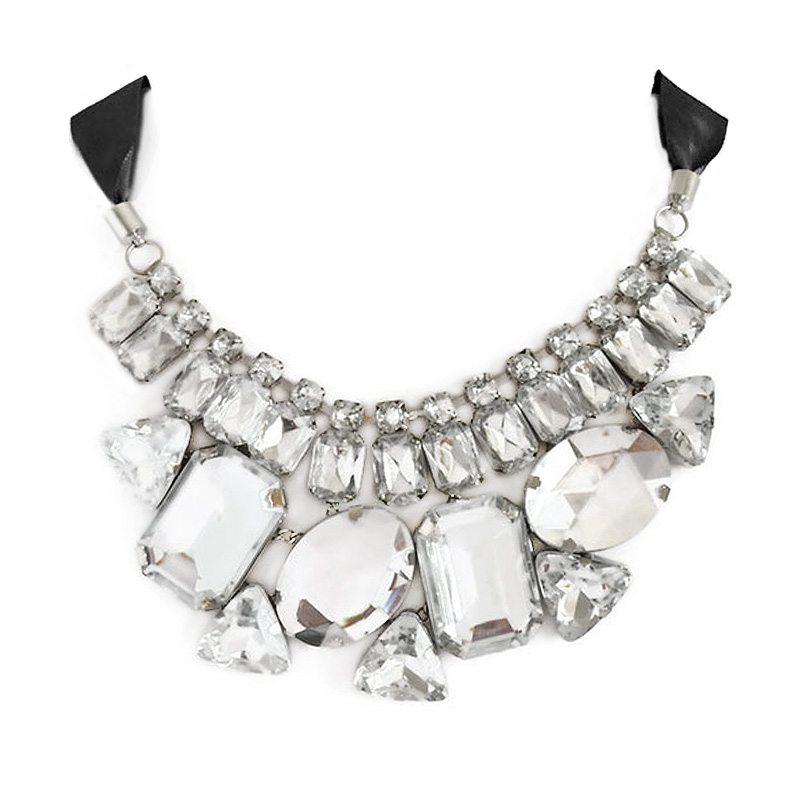 imagen de collar de pedreria XL