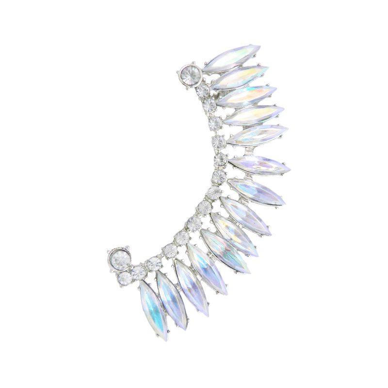 imagen de earcuff con cristales