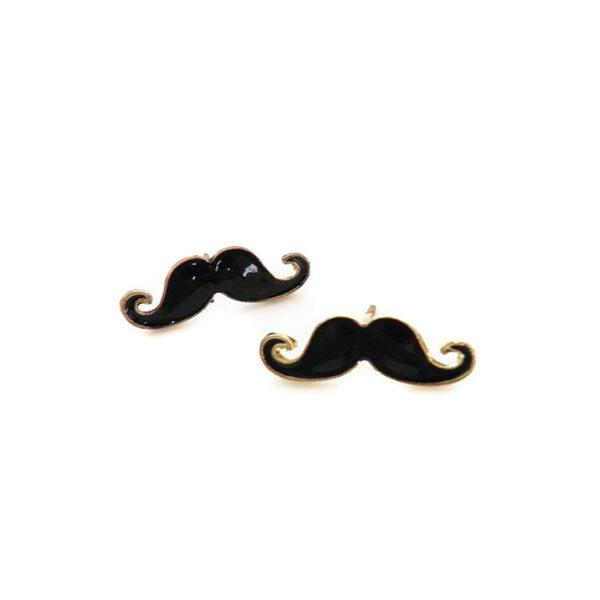 imagen de pendientes en forma de bigote