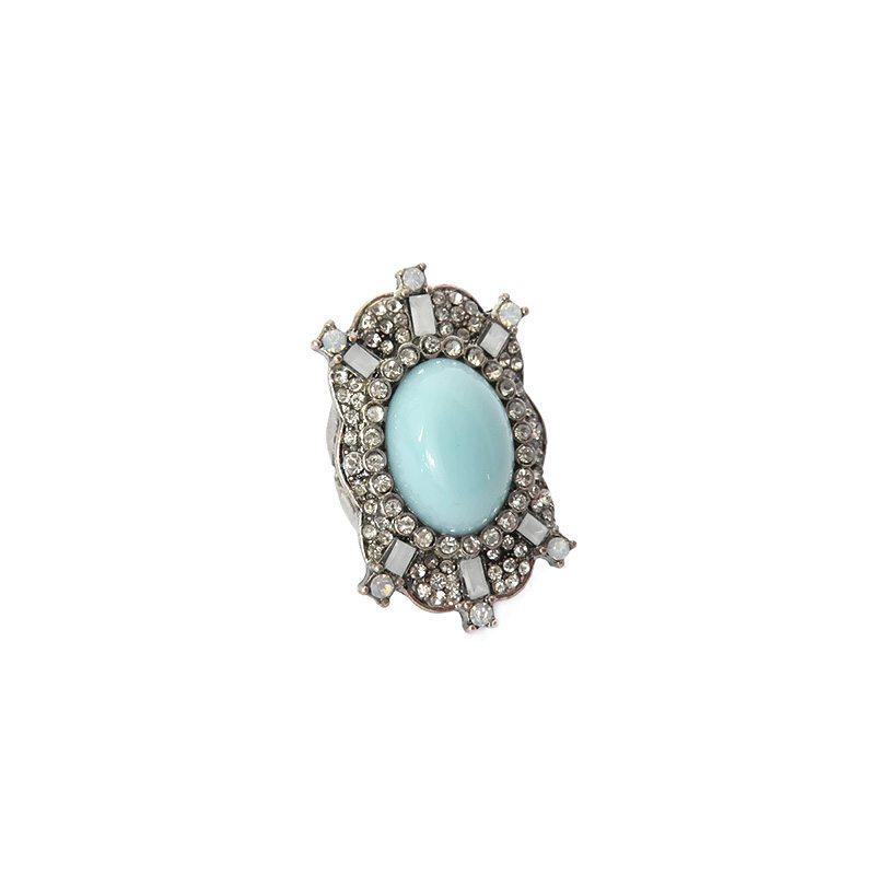 imagen de anillo xl azul