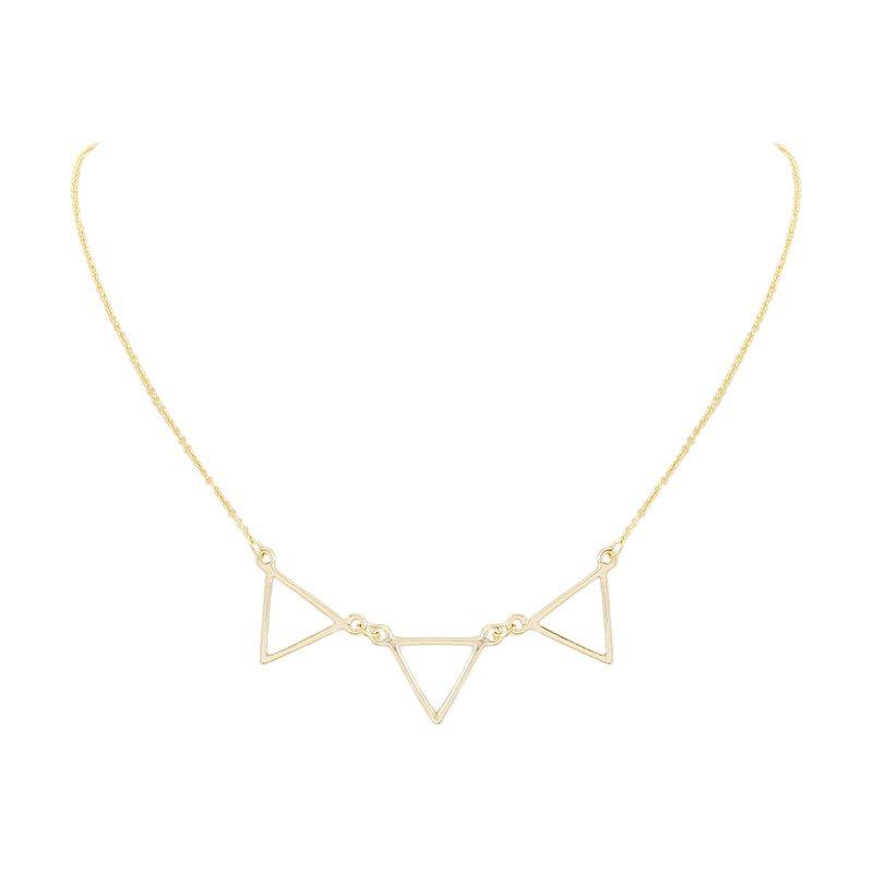 comprar online colgante de triángulos