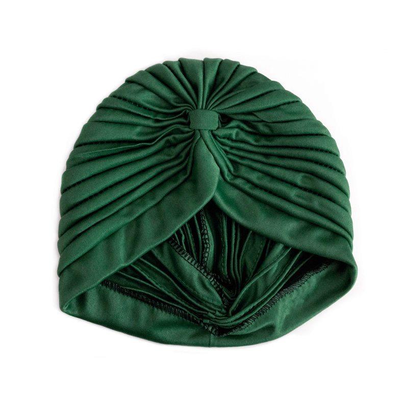 comprar turbante verde oscuro