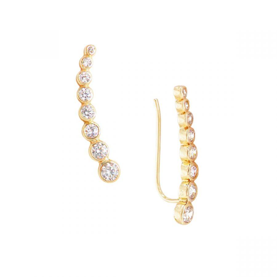 Pendientes Trepadores de Cristales