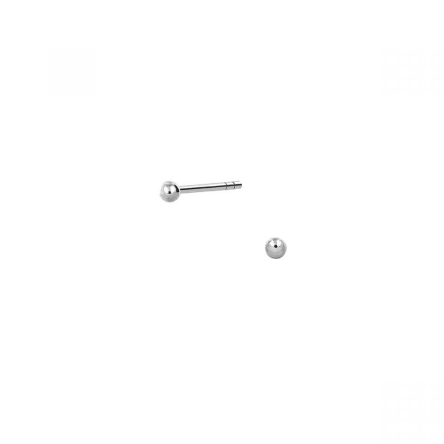 Bolitas de plata de ley 925 de 2mm