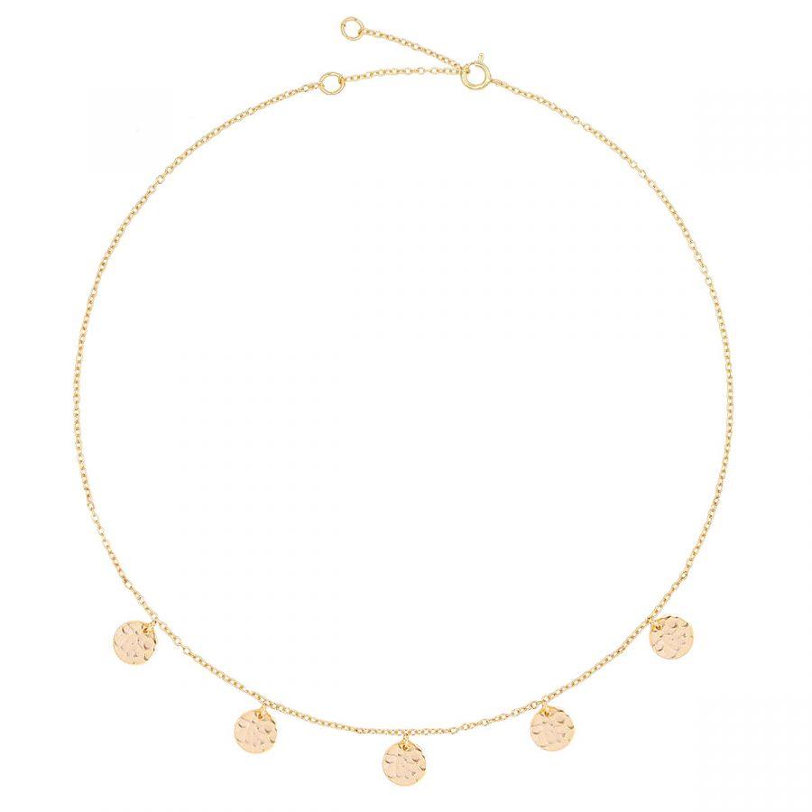 comprar collar circles oro