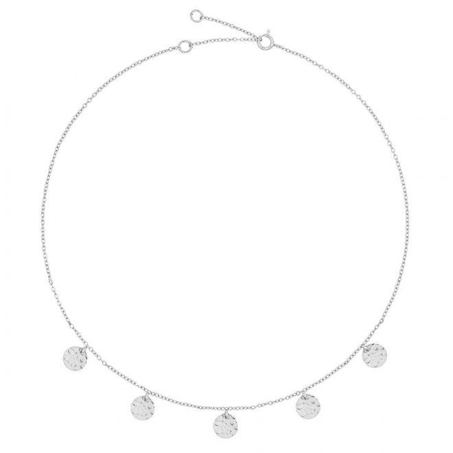 comprar collar círculos plata