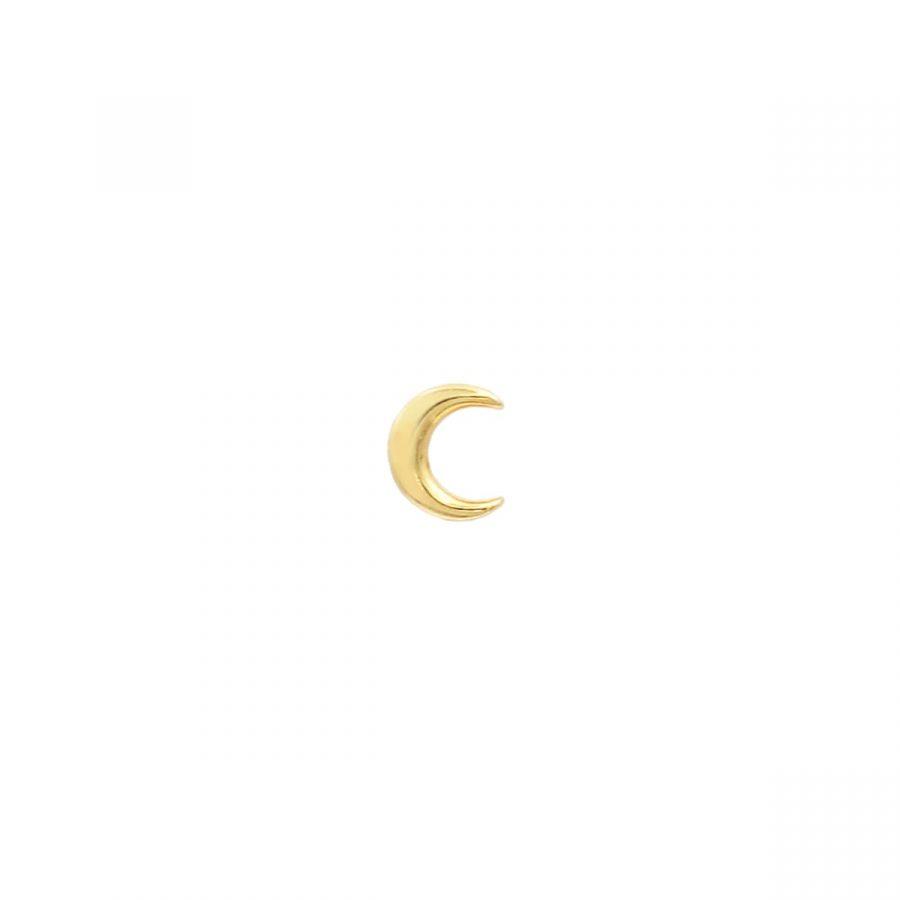 Piercing de Luna con cierre de Rosca