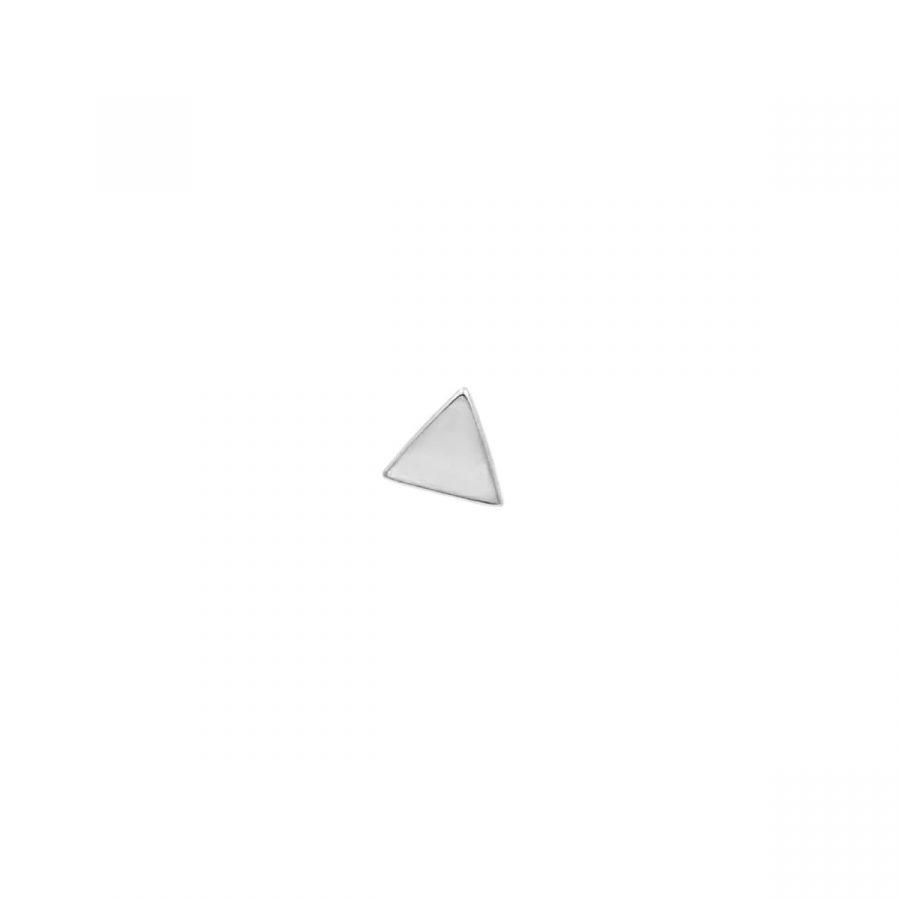 Piercing de Triángulo en Plata