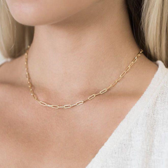 Collar Chain Dorado