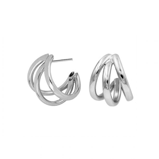 comprar aros triples de plata