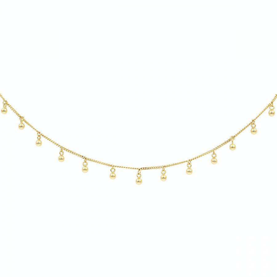 Collar Verbena Oro