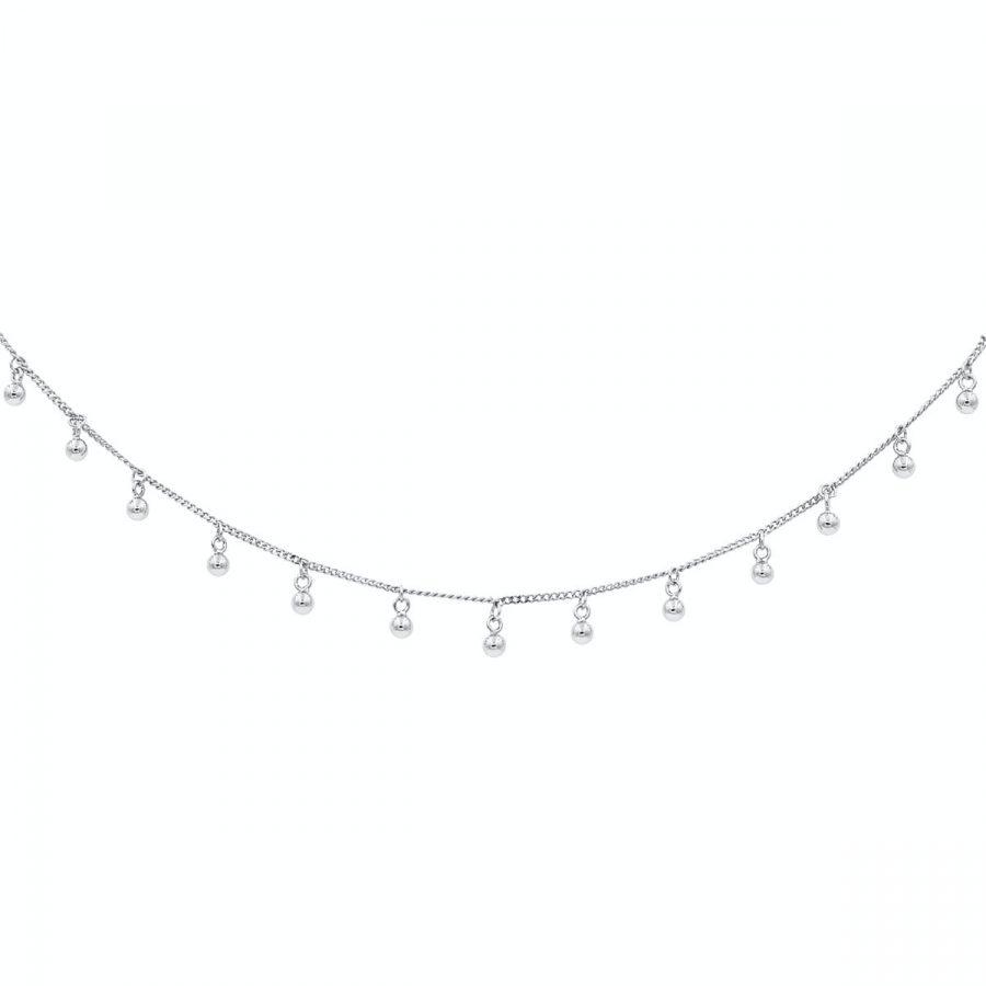 Collar Verbena en Plata