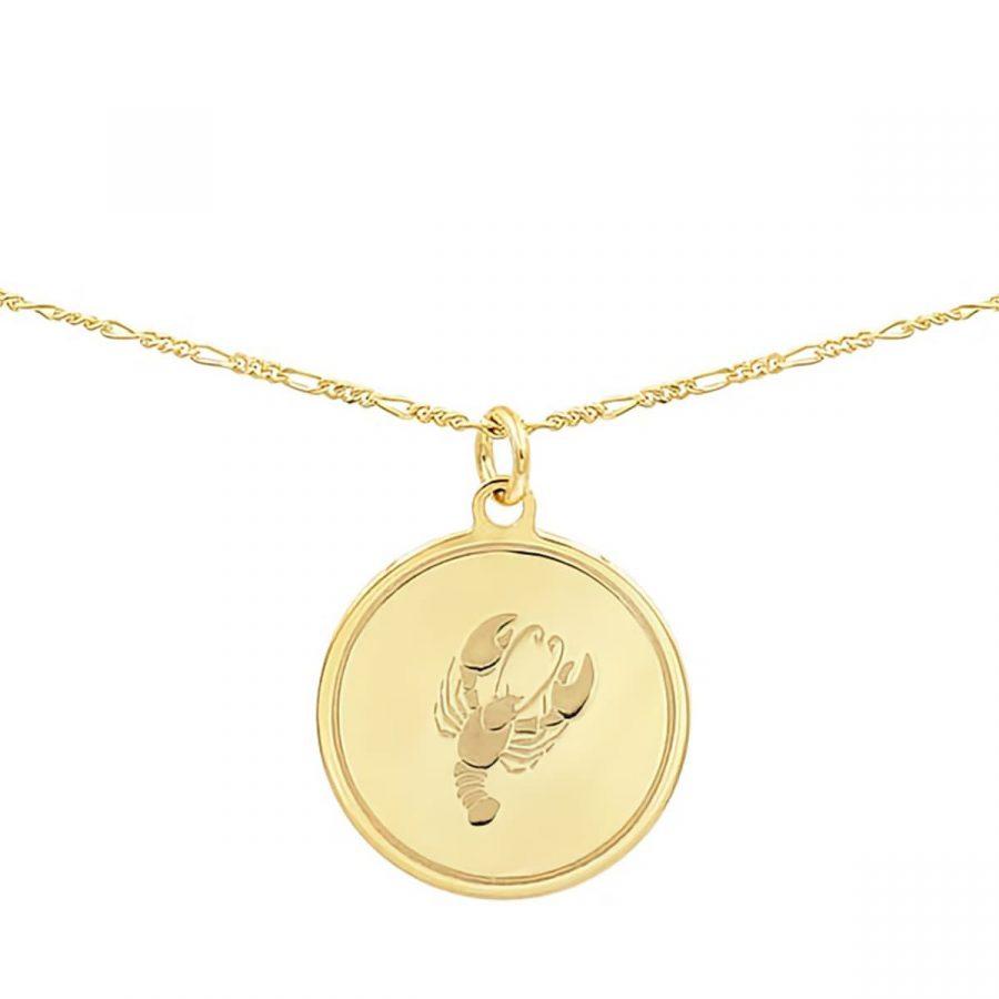 comprar collar de horóscopo en una medalla