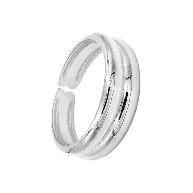 comprar anillo ancho de plata de ley