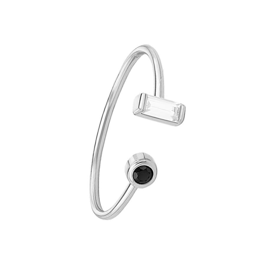 comprar anillo abierto con circonitas