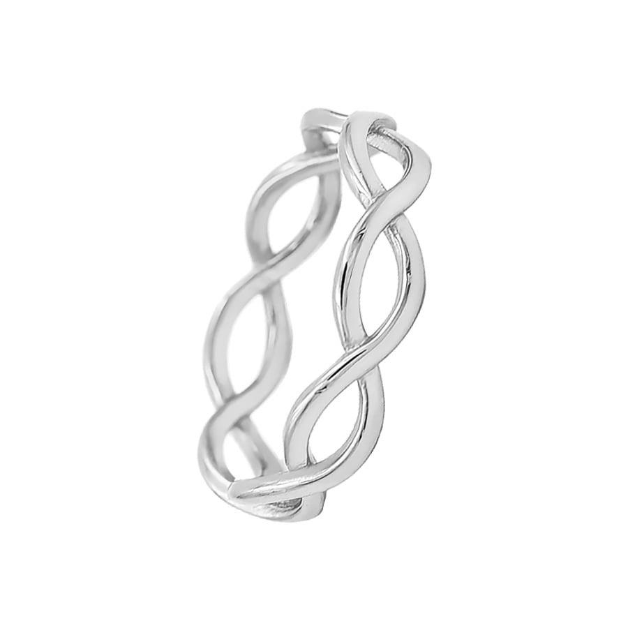 comprar anillo ondas infinito de plata