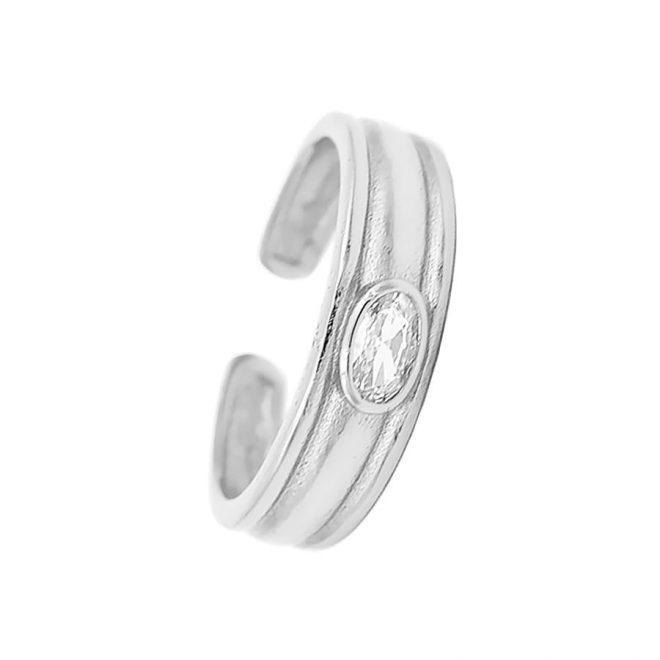 comprar anillo con piedra blanca