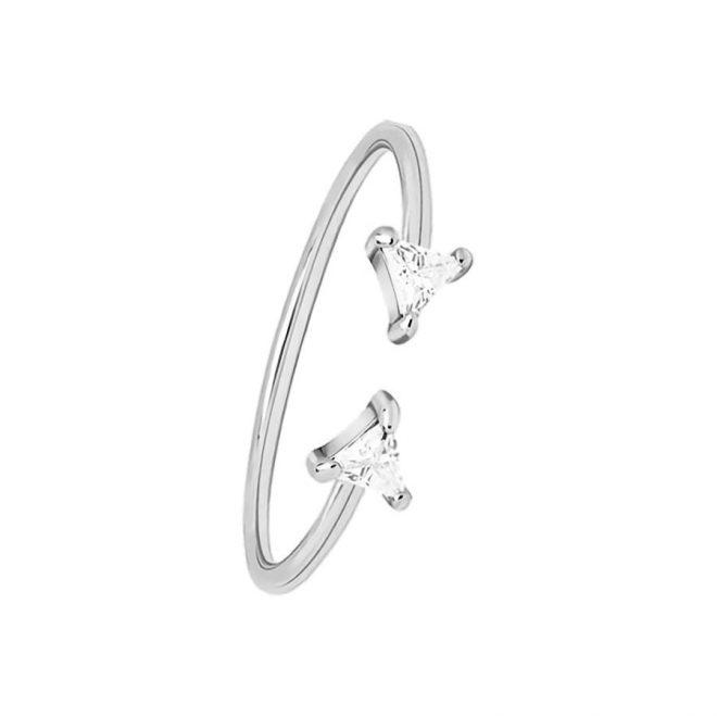 comprar anillo triángulos plata
