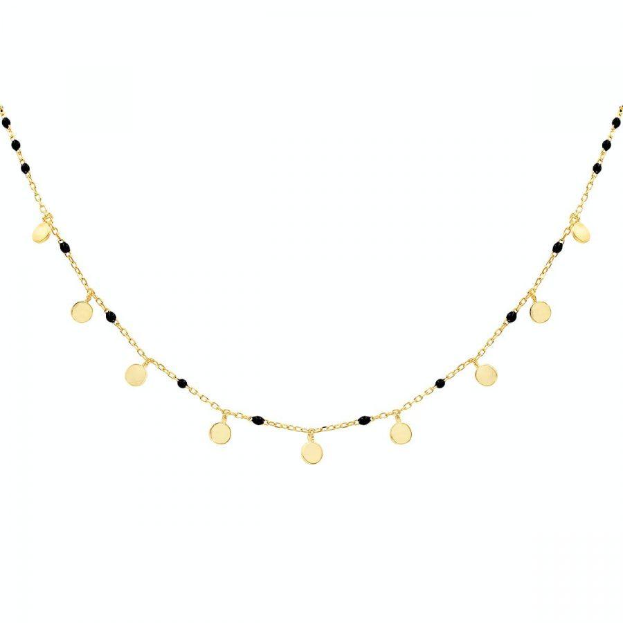 comprar collar boho noir oro
