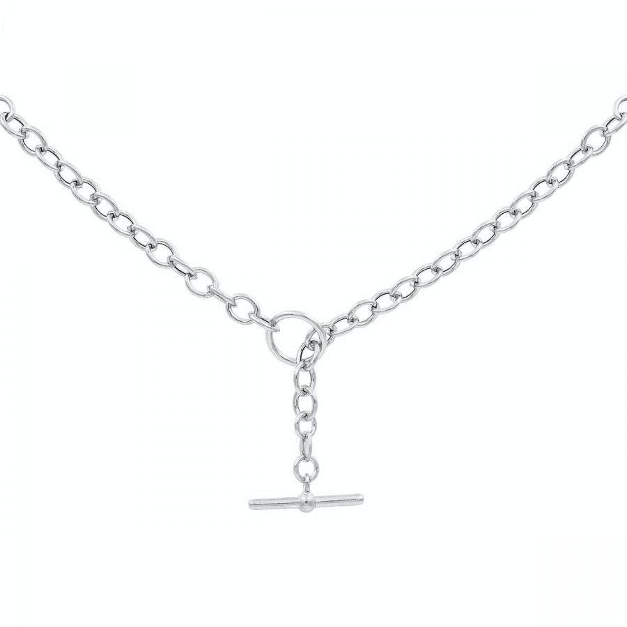 comprar collar cadena plata