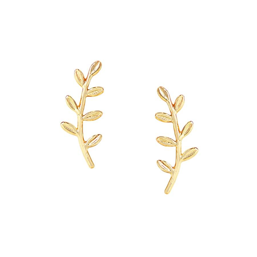comprar pendientes rama trapadores oro