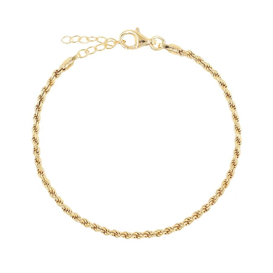 comprar pulsera cordón oro