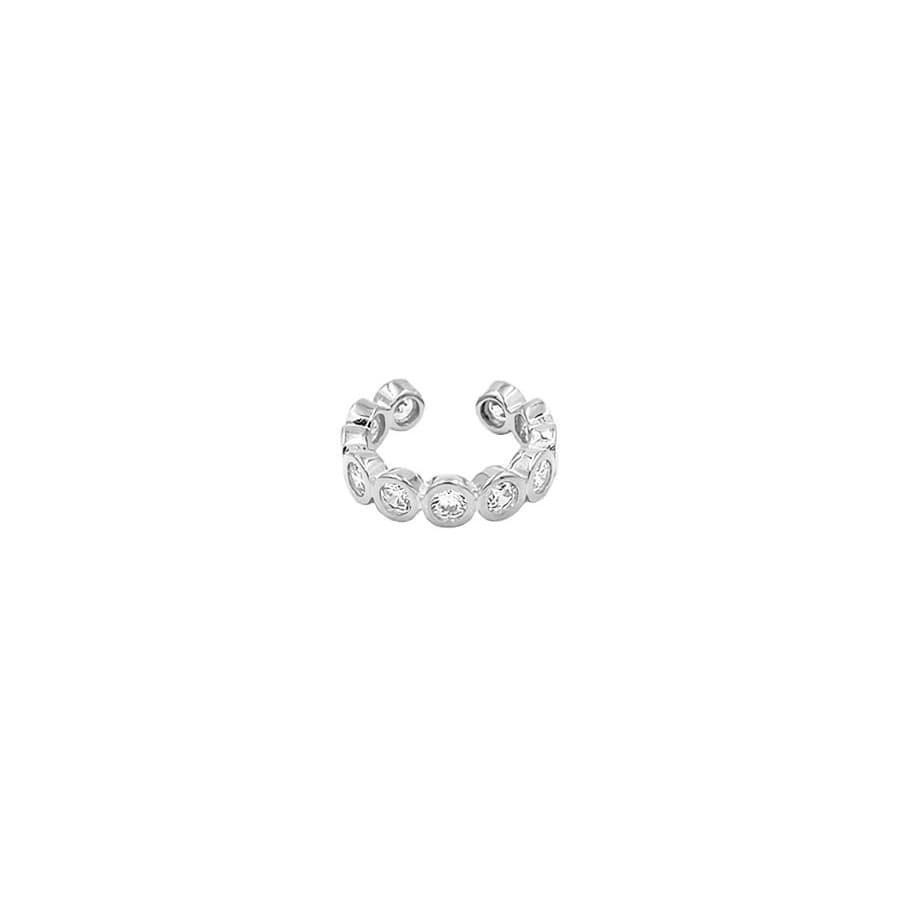 Cartílago orbital de cristales en plata de ley