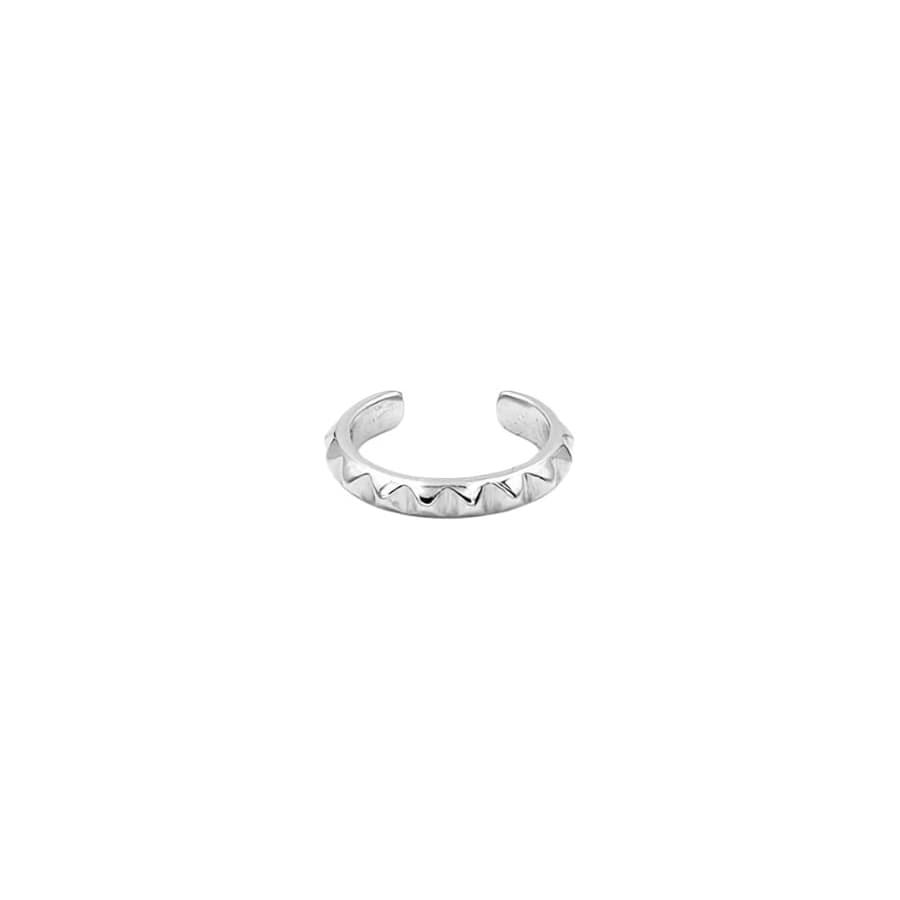 piercing orbital en plata sin agujero