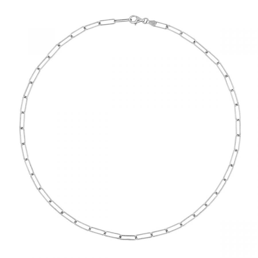 Collar Maxi Chain Plata