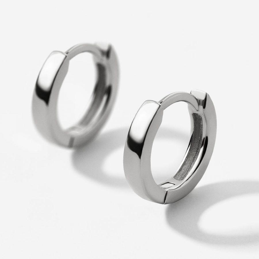 aros de plata de 14mm