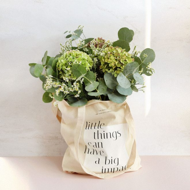 Makedoonia Tote Bag Flores